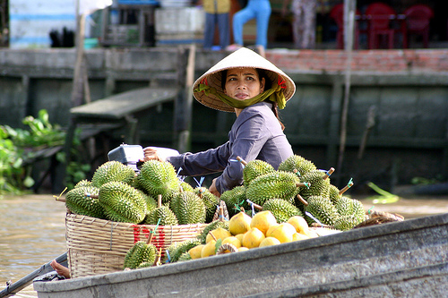 Cai Rang Floating Market, Destination in Can Tho